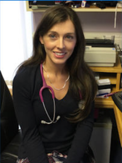 Dr. Caroline Noone, GP at Hazelhill Family Practice in Ballyhaunis, Co. Mayo.