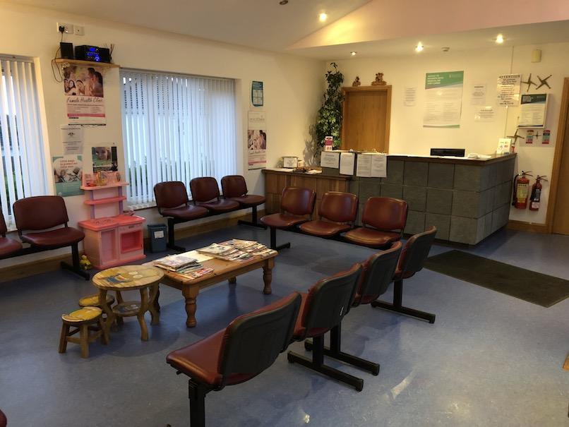 Hazelhill Family Practice, reception area